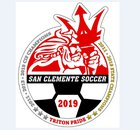 San Clemente Tritons Boys Varsity Soccer Winter 18-19 team photo.