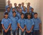 Brazoswood Buccaneers Boys Varsity Soccer Winter 18-19 team photo.