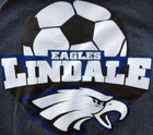 Lindale Eagles Boys Varsity Soccer Winter 16-17 team photo.