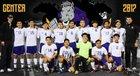 Center Roughriders Boys Varsity Soccer Winter 16-17 team photo.