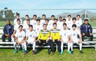 Bonita Vista Barons Boys Varsity Soccer Winter 16-17 team photo.