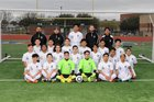 Pflugerville Connally Cougars Boys Varsity Soccer Winter 16-17 team photo.