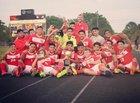 Bellville Brahmas Boys Varsity Soccer Winter 16-17 team photo.
