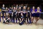 Lakeside Vikings Girls Varsity Softball Fall 17-18 team photo.