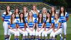 Tattnall Square Academy Trojans Girls Varsity Softball Fall 17-18 team photo.
