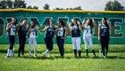 Kennedy Commanders Girls Varsity Softball Fall 17-18 team photo.