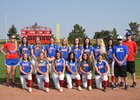 Cherry Creek Bruins Girls Varsity Softball Fall 17-18 team photo.