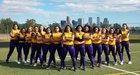 Denver North Vikings Girls Varsity Softball Fall 17-18 team photo.