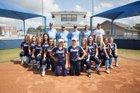 Bartlesville Bruins Girls Varsity Softball Fall 17-18 team photo.