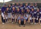 Arvada West Wildcats Girls Varsity Softball Fall 17-18 team photo.
