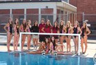 Carondelet Cougars Girls Varsity Water Polo Fall 15-16 team photo.