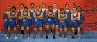 Las Cruces Bulldawgs Boys Varsity Wrestling Winter 13-14 team photo.