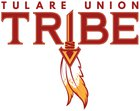 Tulare Union The Tribe Boys Varsity Football Fall 17-18 team photo.