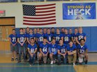 Lansing Bobcats Boys Varsity Football Fall 17-18 team photo.