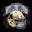 JW North Huskies Boys Varsity Football Fall 17-18 team photo.