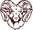 Tyner Academy Rams Boys Varsity Football Fall 17-18 team photo.