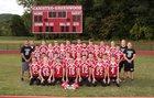 Canisteo-Greenwood Redskins Boys Varsity Football Fall 17-18 team photo.