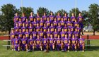Hanford Falcons Boys Varsity Football Fall 17-18 team photo.