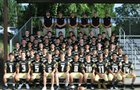 De Queen Leopards Boys Varsity Football Fall 17-18 team photo.