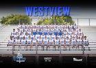 Westview Knights Boys Varsity Football Fall 17-18 team photo.