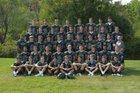 Yorktown Huskers Boys Varsity Football Fall 17-18 team photo.