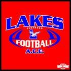 Lakes Eagles Boys Varsity Football Fall 17-18 team photo.