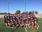 Independence 76ers Boys Varsity Football Fall 17-18 team photo.