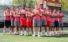 Bergen Catholic Crusaders Boys Varsity Football Fall 17-18 team photo.