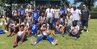 Greene Central Rams Boys Varsity Football Fall 17-18 team photo.
