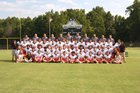 North Davidson Knights Boys Varsity Football Fall 17-18 team photo.