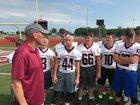 Central Noble Cougars Boys Varsity Football Fall 17-18 team photo.