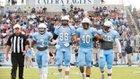 Calera Eagles Boys Varsity Football Fall 17-18 team photo.