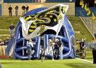 Stephenville Yellow Jackets/Honeybees Boys Varsity Football Fall 17-18 team photo.