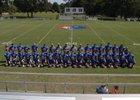 Cedar Ridge Timberwolves Boys Varsity Football Fall 17-18 team photo.