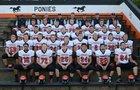 South Fork/Edinburg/Morrisonville Ponies Boys Varsity Football Fall 17-18 team photo.