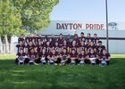 Dayton Dust Devils Boys Varsity Football Fall 17-18 team photo.