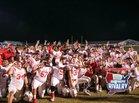 Crestview Bulldogs Boys Varsity Football Fall 17-18 team photo.