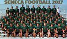 Seneca Golden Eagles Boys Varsity Football Fall 17-18 team photo.