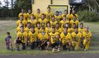 Kohala Cowboys Boys Varsity Football Fall 17-18 team photo.