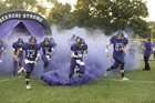Burlingame Bearcats Boys Varsity Football Fall 17-18 team photo.