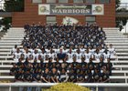 Jefferson County Warriors Boys Varsity Football Fall 17-18 team photo.