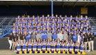 Ferndale Golden Eagles Boys Varsity Football Fall 17-18 team photo.