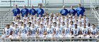 Charlestown Pirates Boys Varsity Football Fall 17-18 team photo.