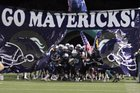 McNeil Mavericks Boys Varsity Football Fall 17-18 team photo.