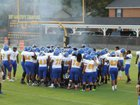 Americus-Sumter Panthers Boys Varsity Football Fall 17-18 team photo.