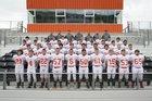 Waldron Bulldogs Boys Varsity Football Fall 17-18 team photo.