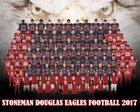 Stoneman Douglas Eagles Boys Varsity Football Fall 17-18 team photo.