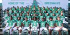 Ashbrook Greenwave Boys Varsity Football Fall 17-18 team photo.