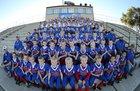 Hot Springs Bison Boys Varsity Football Fall 17-18 team photo.