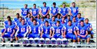 Hot Springs Tigers Boys Varsity Football Fall 17-18 team photo.
